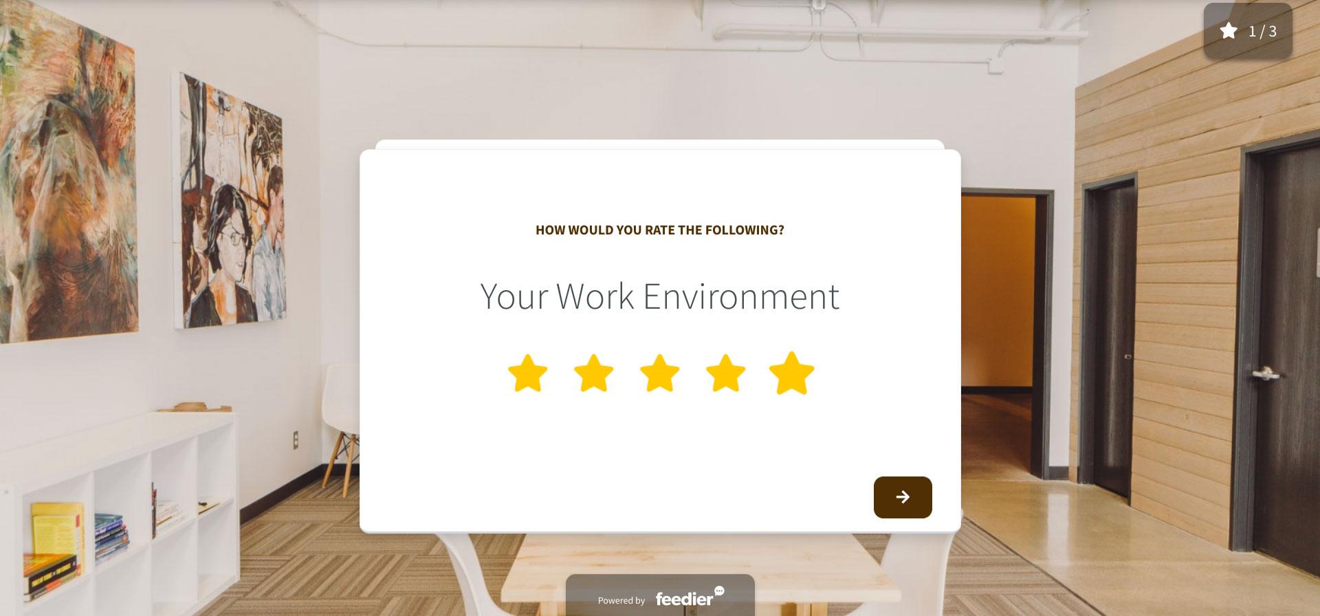 Employee Satisfaction Feedback Form Template